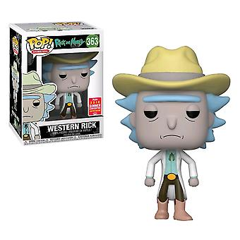 Rick and Morty Western Rick SDCC 2018 US Pop! Vinyl