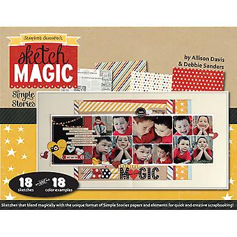 Scrapbook Generation Sketch Magic With Simple Stories Sgmagic
