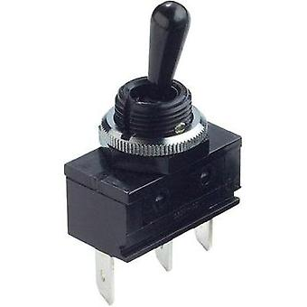 Toggle switch 250 Vac 16 A 1 x (On)/Off/(On) Arcolectric C1722ROAAA momentary/0/momentary 1 pc(s)