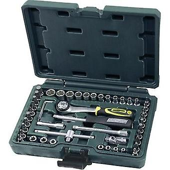 Bit set Metric 1/4 (6.3 mm) 49-piece Brüder Mannesmann 29095