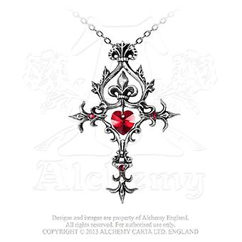 Alchemy Gothic Renaissance Cross of Passion Pendant