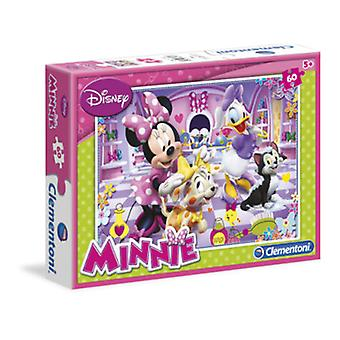 Clementoni Puzzle 60 Minnie and their pets (Toys , Boardgames , Puzzles)