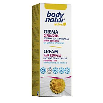 Body Natur Camomile Face Hair Removal Cream 50 Ml English And Armpits