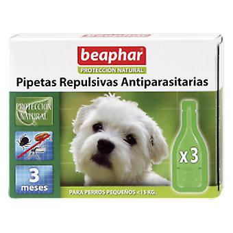 Beaphar Repulsive antiparasitic dog pipettes Small 3 x 1 mL
