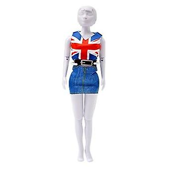 Dress Your Doll Combi Red Blue (Toys , Educative And Creative , Design And Mode , Mode)