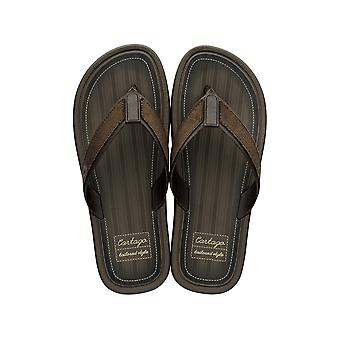 Rider Majorca II Mens Flip Flops / Sandals - Brown