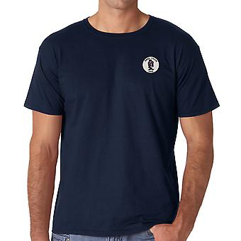 US Navy Seal Team One Special Forces Embroidered Logo - Ringspun Cotton T Shirt