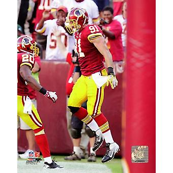 Ryan Kerrigan 2011 Action Photo Print