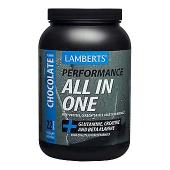 Lamberts All In One- Chocolate Flavour, 1450g, Pdr