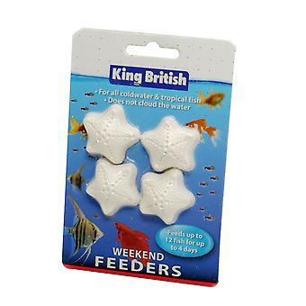 King British Weekend Feeders (4 Per Card) (Pack of 12)
