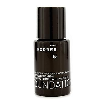 Korres Wild Rose Aufhellung & langlebige Foundation SPF 20 - WRF9 30ml / 1.01 oz