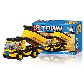 Sluban Building Blocks Town Series Garbage Truck