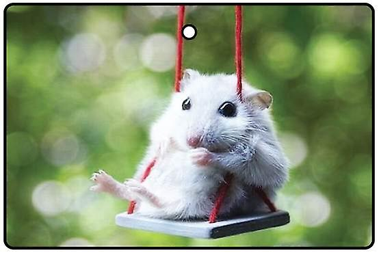 Swinging Rodent Car Air Freshener