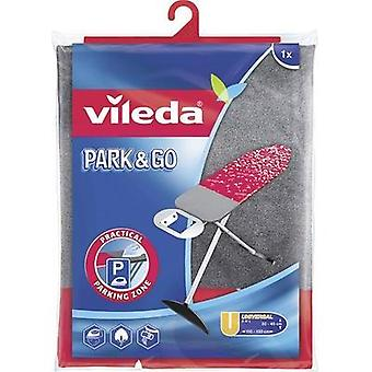 Ironing board cover Vileda 110066 1 pc(s) Red, Grey