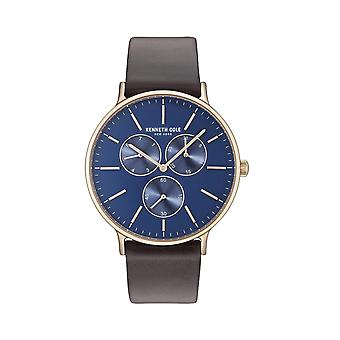 Kenneth Cole New York Herren Uhr Armbanduhr Leder KC14946005