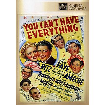 You Can't Have Everything [DVD] USA import