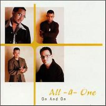 All-4-One - On & on [CD] USA import
