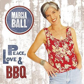 Marcia Ball - Peace Love & Bbq [CD] USA import