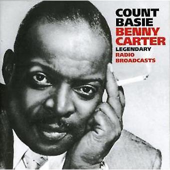 Count Basie - legendariske Radio udsendelser [CD] USA import