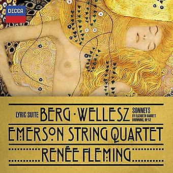Fleming/Emerson Stri - Berg: Lyric Suite; W [CD] USA import