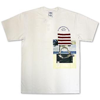 Oplichters & kastelen Merz Pocket T-Shirt Wit