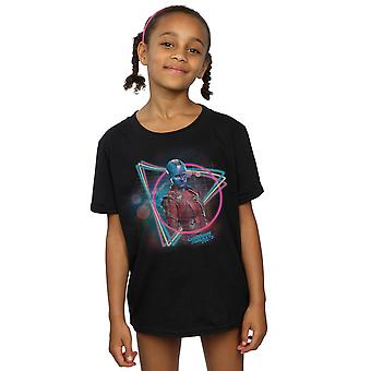 Marvel Girls Guardians of the Galaxy Neon Nebula T-Shirt
