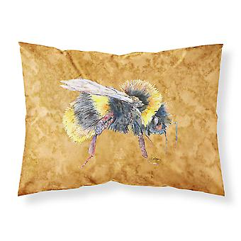 Carolines Treasures  8850PILLOWCASE Bee on Gold Moisture wicking Fabric standard