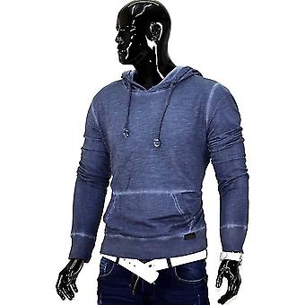 Men's Hooded Sweater Hoodie sweater dirty oil Sweatshirt hooded vintage Sweatshirt