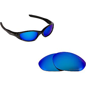 MINUTE 2.0 Replacement Lenses Polarized Blue by SEEK fits OAKLEY Sunglasses