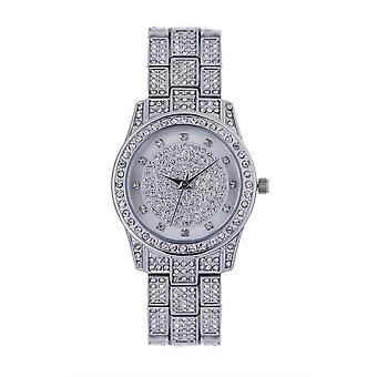 Ånd Luksus Ladies dame sølv Wrist Watch ASPL93X