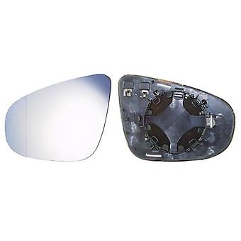 Left Mirror Glass (heated) & Holder For VW TOURAN 2009-2010