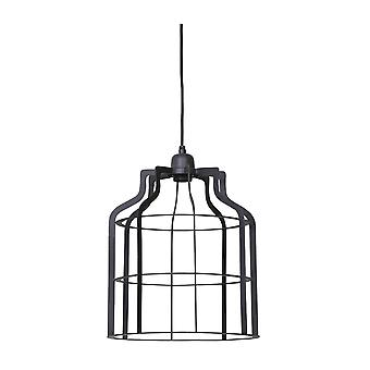 Light & Living Hanging Pendant Lamp D30x38cm Adine Wire Industrial Grey