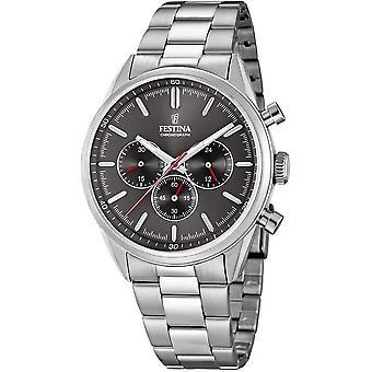Festina mens watch of timeless chronograph F16820/7