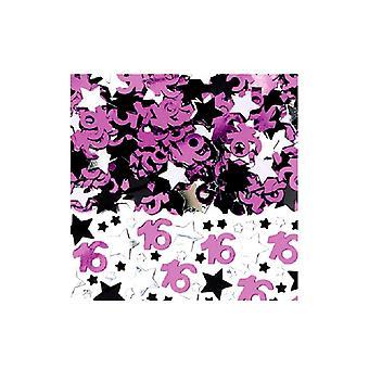 16th fødselsdag konfetti