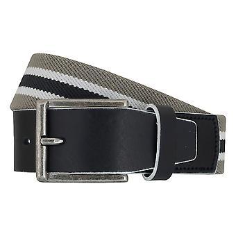 LLOYD Men's belt belts men's belts Stretchgürtel Grau 6905