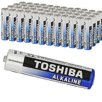 40 x TOSHIBA Extrapower AAA Micro LR03 Alkaline-Batterien 1, 5V, 40er-Pack