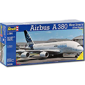 """REVELL Airbus A380 """"New Livery"""" 1:144 Aircraft Model Kit - 04218"""