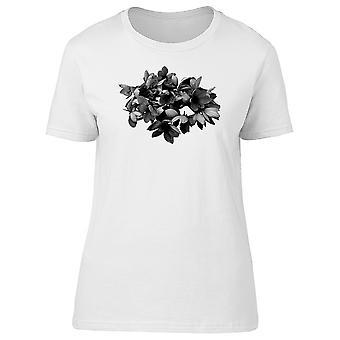 Black Garden Flowers Tee Women's -Image by Shutterstock