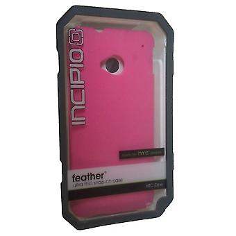 Incipio Feather Case for HTC One  - Neon Pink
