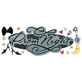 Jolee's Boutique Title Waves Dimensional Stickers-Prom Night