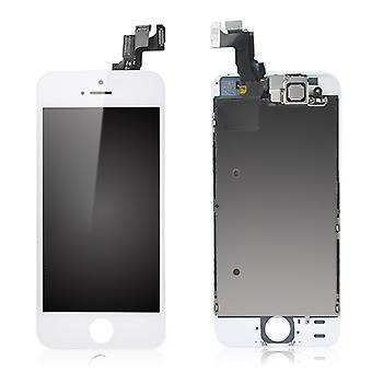 Für iPhone 5 s komplette LCD-Bildschirm - weiß - Premium-Qualität