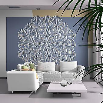 Wallpaper - White ornament