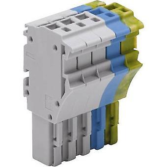 WAGO 2022-105/000-038 1 Conductor Clip Connector Series 2022 Green-yellow, Blue, Grey