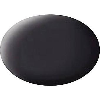 Revell Aqua paint Tar black (matt) 06 Can 18 ml