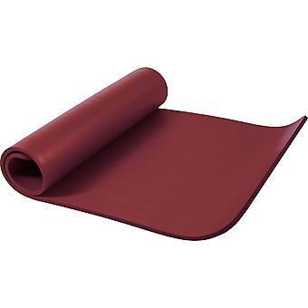Yogamatte Dunkelrot 190 x 100 x 1,5 cm