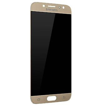 LCD replacement part with touchscreen for Samsung Galaxy J7 2017 - Gold