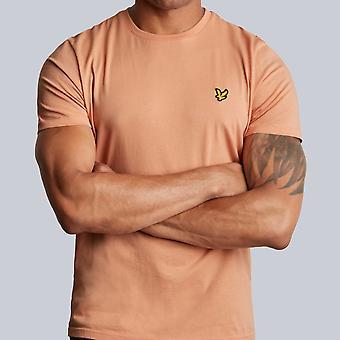 Lyle & Scott Crew Neck T-Shirt Dusky Coral