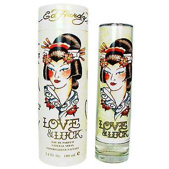 Ed Hardy Love & Luck for Women 3.4 oz Eau de Parfum Spray