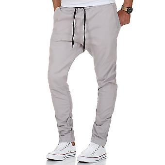 L.A.B 1928 men's Chino Jogger Pant grey