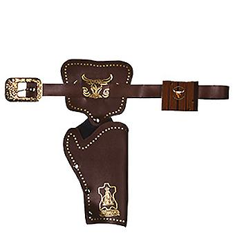 Colt belt 1 Pocket gun bag dark brown cowboy Holster accessory